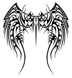 angel wings tattoo design - WTF Tattoos