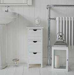 White 8 Drawer Slim Storage Unit Bedroom Bathroom Kitchen Decor E Saver By Nyconnection535 84 99 Home Pinterest And