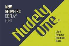 Nudely One - 4 Fonts. Sans Serif Fonts. $30.00