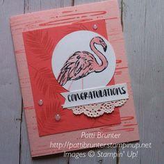 Stampin Up Fabulous Flamingo