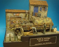 Dioramas and Vignettes: Elefant in Italy, 1944, photo #7