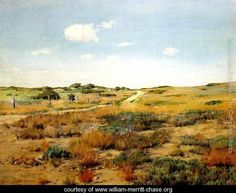 Shinnecock Hills I Painted by:	William Merritt Chase Dimensions:	22.05 inch wide x 16.93 inch high