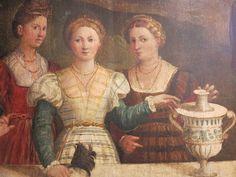 File:Veduta di una piazza con dame alla balaustra di Floriano Ferramola (attr.)1.JPG