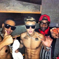 #JustinBieber must really wants to be known for his ripped body