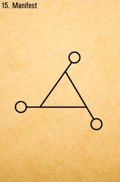 Manifest symbol... repinned by http://Abundance4Me.net