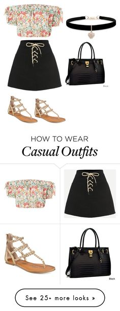 """""""Casual Friday"""" by fashionista-since1993 on Polyvore featuring Love, American Rag Cie, Dasein, Betsey Johnson and under100"""