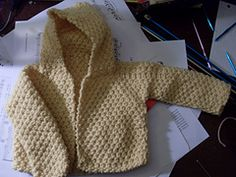 Ravelry: Knitted Hood Sacque pattern by Columbia-Minerva