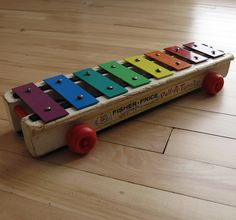 Fisher Price Pull A Tune Xylophone - still have this too xx
