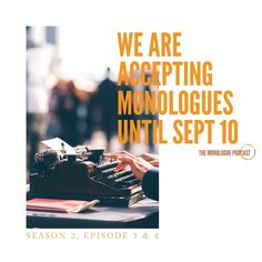 The Monologue Podcast (@themonologuepodcast) posted on Instagram • Aug 16, 2021 at 9:35am UTC Monologues, Episode 3, Season 2, Movie Posters, Movies, Instagram, Ideas, Films, Film Poster