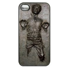 Star Wars Han Solo in Carbonite iPhone Case ❤ liked on Polyvore