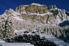 Val di Fassa - Trentino, Italy. I go skiing here a lot it is definitely a must visit for skiers.