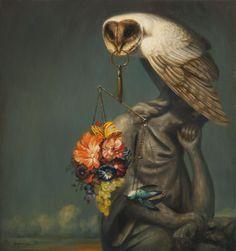Своевременная и современная живопись Мартина Витвуса