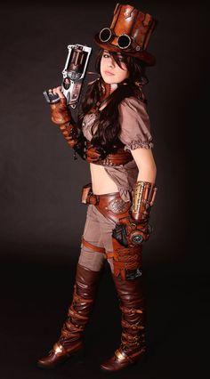 Steampunk Girls | steampunk girl by *Lagueuse on deviantART