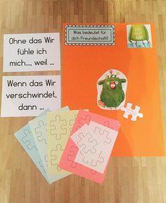 Vorbereitungen: 1. Schultag 1. Klasse - Bilderbuch: Wenn ein Löwe in ...