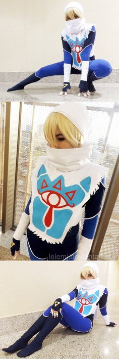 Sheik from The Legend of Zelda