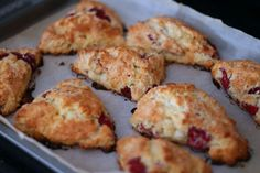 White Chocolate Raspberry Scones... One of my favorite recipes!