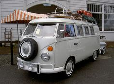 VW Camper ♥♥♥ Mary Jane Car for sure. I'd install a couch