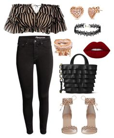 """""""Untitled #12"""" by beacraven ❤ liked on Polyvore featuring Zimmermann, H&M, Michael Kors, BERRICLE, ruffles and RuffLyfe"""
