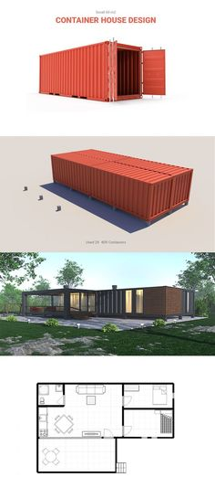 Container house on behance container pool, sea container homes, sea containers, container home Container Home Designs, Sea Container Homes, Building A Container Home, Container Cabin, Container Buildings, Storage Container Homes, Container Architecture, Container Houses, Container Pool