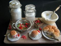 My Dream Dollhouse: Miniature Food by Betsy Niederer