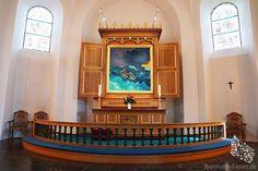 Altar der Nikolaikirche in Rønne #nikolaikirche #roenne #ronne #altar #bornholm