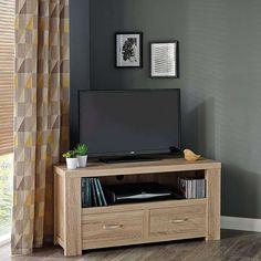 York Corner TV Stand | Dunelm