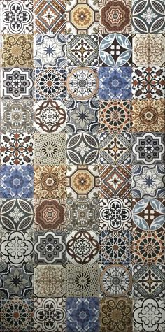 Otto Tiles and Design is the leading tile shop and provider of handmade and bespoke encaustic cement tiles, Moroccan tiles, terrazzo tiles, ceramic tiles and porcelain tiles. Art Deco Tiles, Tile Art, Mandala Painting, Mandala Art, Art Design, Tile Design, Tile Patterns, Pattern Art, Islamic Art Pattern