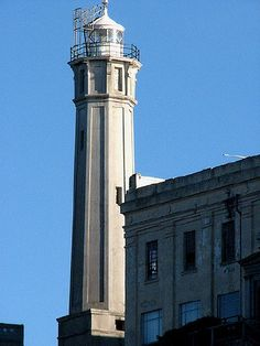 Alcatraz Light, San Francisco Bay, California, July 2007 Flickr Creative Commons photo by Johnny Grim