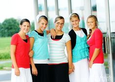 Love the clothes matching :) Credits - Beaute Photography Some of my favorite girls. » My Blog