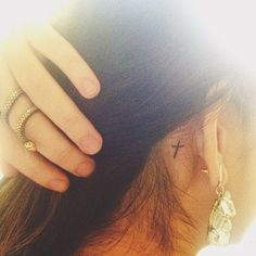 I'm definitely getting this tattoo. It's so cute and simple and I love it.