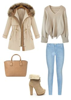 """""""Untitled #401"""" by maritzawaffles on Polyvore featuring 7 For All Mankind, MANGO, women's clothing, women's fashion, women, female, woman, misses and juniors"""