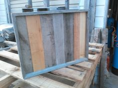 #palletwood Pallet tray
