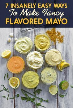 7 Of The Most Delicious Things You Can Do To Mayonnaise curry mayo Herb Aioli Spicy Mayonnaise Garlic Aioli Scallion-Lime Mayonnaise Miso Mayo Homemade Mayonnaise, Homemade Sauce, Curry Mayonnaise Recipe, Homemade Seasonings, Homemade Food, Side Dishes, Cheeseburgers, Burger Recipes, Vegetarian Recipes