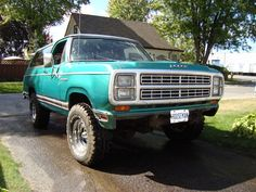 1979 Dodge Ramcharger Dodge Trucks, Pickup Trucks, Dodge Ramcharger, Best Muscle Cars, Rv Trailers, Mini Trucks, Future Car, Cummins, Plymouth