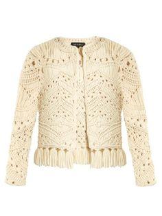 Tuva hand-macramé tassel-trim jacket   Tabula Rasa   MATCHESFASHION.COM UK