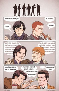 Superwholock by MikeDimayuga.deviantart.com on @deviantART