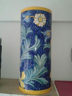 Parag ero decorativo bamb azul paragueros decorativos - Paragueros antiguos ...