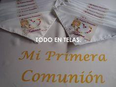 Super lindas bolsitas limosneras y servilletas sublimadas personalizadas primera comuni n - Servilletas personalizadas ...