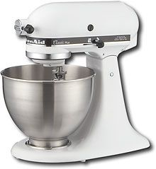 Shop KitchenAid Classic Series Tilt-Head Stand Mixer at Lowe's Canada. Find our selection of mixers at the lowest price guaranteed with price match. Kitchenaid Classic Stand Mixer, Kitchen Gourmet, Kitchen Dining, Real Kitchen, Kitchen Witch, Kitchen Small, Kitchen Things, Kitchen Stuff, Small Appliances