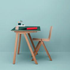 HAUS - Copenhague Desk by Ronan + Erwan Bouroullec - Possible CPU Desk in Lounge/Dinner £916