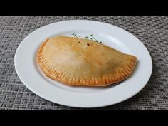 Calzone Recipe - How to Make a Calzone - Ham and Cheese Stuffed Pizza Bread - YouTube