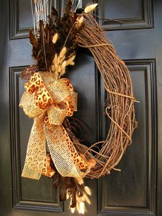 More fall wreaths