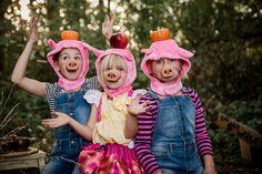 Wedding and Family Photographer Pig Halloween Costume, Halloween 2017, Three Little Pigs, Shrek, Trick Or Treat, Family Photographer, Owl, Velvet, Blog