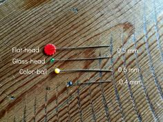 How to Choose Sewing Pins | Right Sides Together