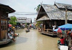 Floating Market, Pattaya, Thailand.
