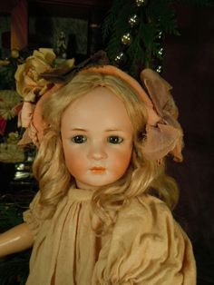 Exceptionelly Rare German Bisque Character1448 by Simon&Halbig from lovelyoldthings on Ruby Lane
