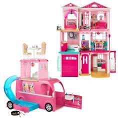 SPECIAL OFFER! Barbie® Dreamhouse® & Pop Up Camper Gift Set - Shop.Mattel.com