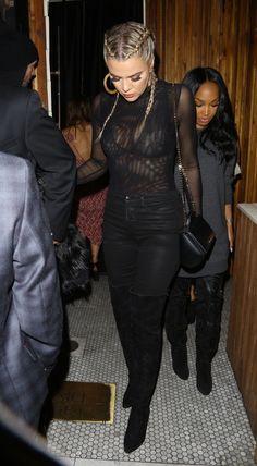 Khloe Kardashian and her BFF Malika