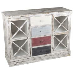 Gorgeous wooden #vitrine with #drawers www.inart.com