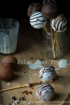 Paleo Cake Pops l Civilized Caveman